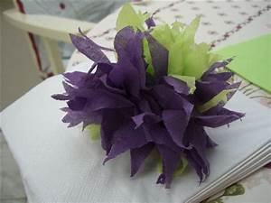 Fleur En Papier Serviette : tuto fleur en papier ~ Melissatoandfro.com Idées de Décoration