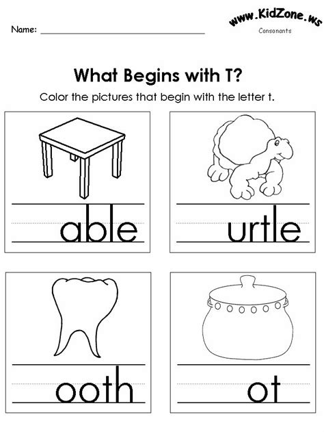 letter t lesson plan for preschool 22 best consonanats worksheets images on 575
