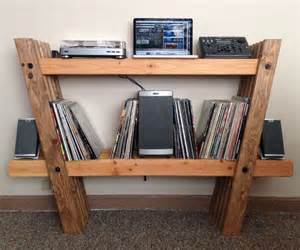 record amp stereo rack