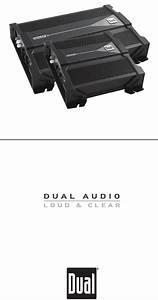 Dual Xpr522 Amplifier Installation  U0026 Owner U0026 39 S Manual Pdf