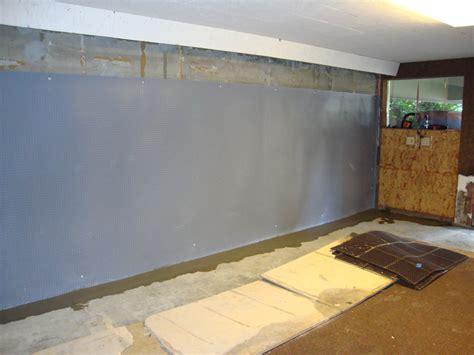 Basement Foundation Wall Moisture Barrier Perma Dry