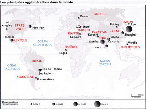 Carte Des Grandes Villes Du Monde by Hgplace