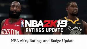 NBA 2K19 - Official Roster Update - [Offline Users ...