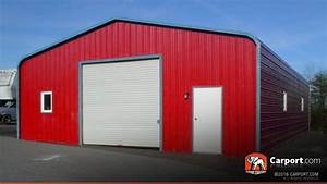 metal building for one car 2439 x 3639 x 1039 shop garages With 24x36 metal garage