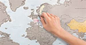 A Scratch-Off World Map That Lets You Track Countries You ...