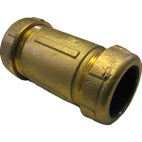 Dresser Couplings For Pvc Pipe by 1 1 2 Quot Ips Brass Dresser Coupling Plumbersstock