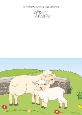sheep printables