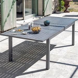 Table De Jardin En Aluminium Avec Rallonge : table de jardin avec rallonge table jardin bois pliante djunails ~ Teatrodelosmanantiales.com Idées de Décoration