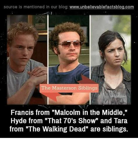 Malcolm In The Middle Memes - source is mentioned in our blog wwwunbelievablefactsblogcom the masterson siblings francis from