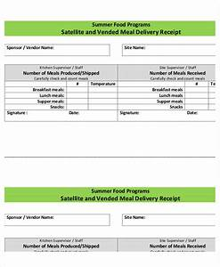 35 receipt forms With dinner receipt template