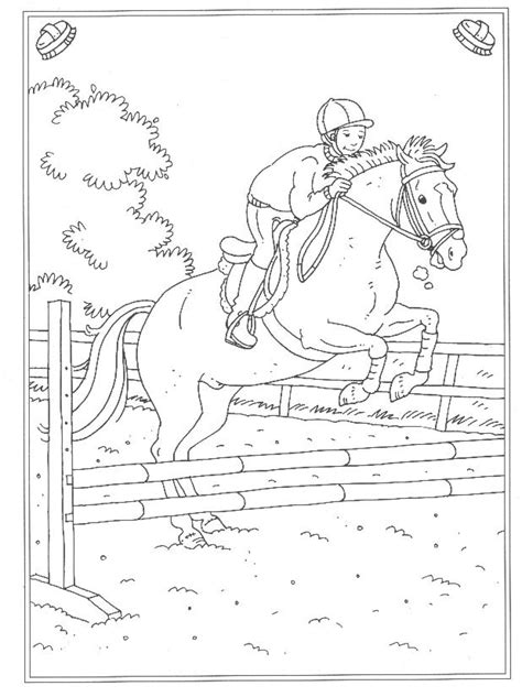 Kidsfun Kleurplaten Nl by N 24 Coloring Pages Of At The Stables
