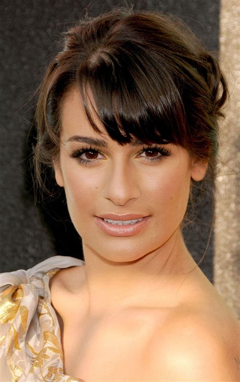 lea michele bra size age weight height measurements