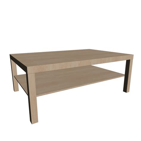 lack coffee table birch effect design and decorate your