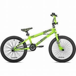 20 Chaos Boys Bmx Bike Neon Green 1 Speed Bicycle