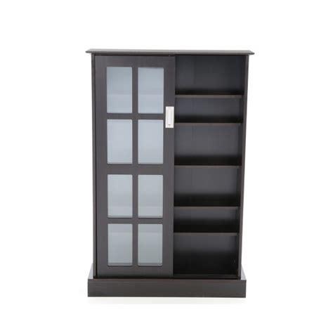 media storage cabinet with glass doors stylish new dvd cd blu ray media storage cabinet glass