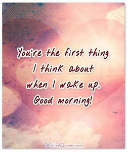 Romantic Good Morning Messages For Her – By WishesQuotes