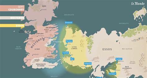 Carte Monde Of Thrones by Of Thrones Le Monde Jules Grandin
