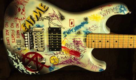 Quitar Graffiti : Esp George Lynch Graffiti M1 Kamikaze Custom Painted