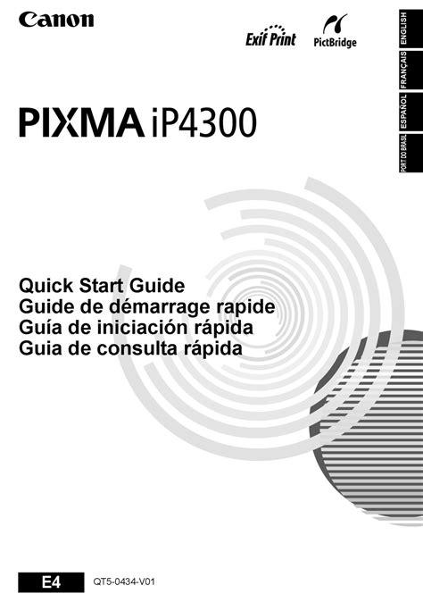16 october 2013 sistem operativo : Descargar Software De Impresora Canon Ip4300 - Descargar Drivers Canon Pixma Ix5000 - Disfruta ...