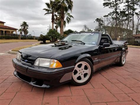 1993 Saleen Mustang Convertible (#52)