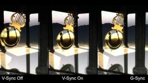 nvidia  sync demo  sync onoff   sync youtube