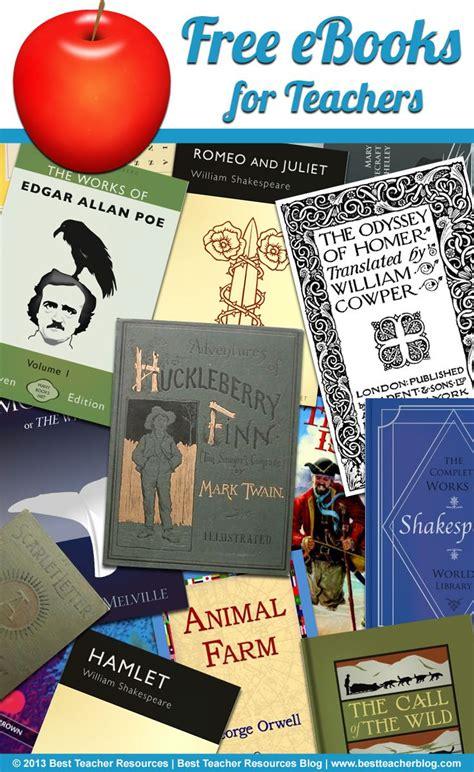14 websites that offer free ebooks for teachers http