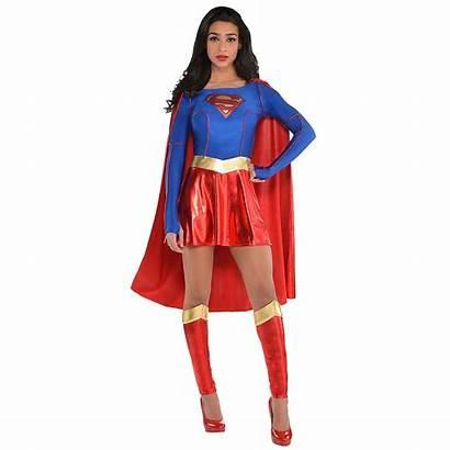Supergirl Costume Superman Adult Costumes Superhero Halloween