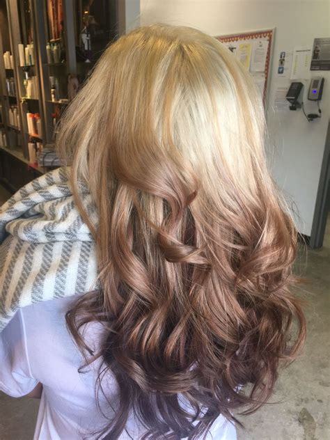 Reverse Ombre In 2019 Ombre Hair Hair Ombre Hair Color