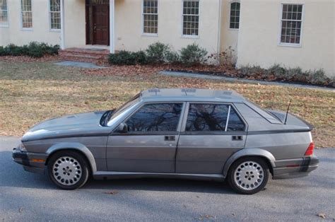 Alfa Romeo Verde For Sale by 1988 Alfa Romeo Verde Classic Italian Cars For Sale