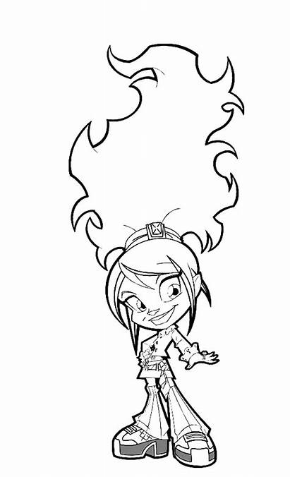 Trollz Coloring Pages Fun