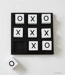 Tic Tac Toe Spiel : tic tac toe spiel aus holz schwarz wei house of ideas orientalische dekorationsartikel und ~ Orissabook.com Haus und Dekorationen