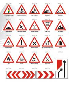 Dubai Traffic Road Signs