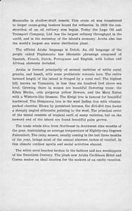 ARUBA HOME COOKING, COOKBOOK, ARUBA HISTORY