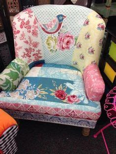 pretty patchwork on patchwork chair