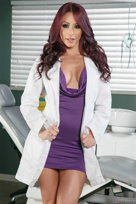 Hot Dentist Monique Alexander Strips In The Office My Pornstar Book