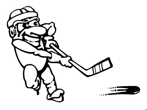 Eishockey Bilder Comic Eishockey Spieler Clipart Bild Comic Cartoon