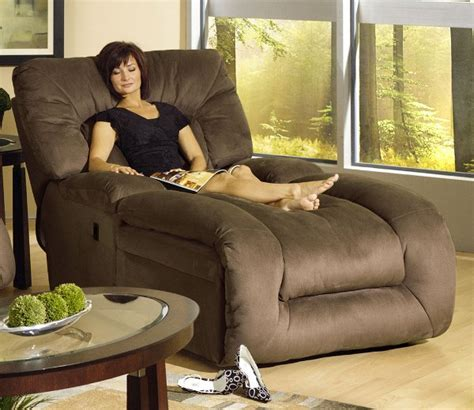 jackpot reclining chaise in microfiber fabric by