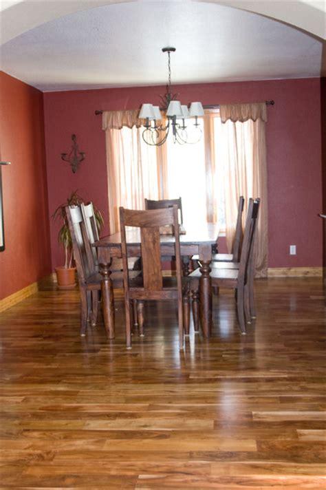 asian walnut modern hardwood flooring denver