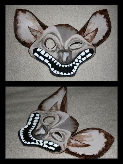 hyena mask lion king pinterest paint  ojays