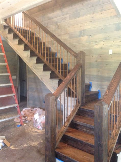 colouring rail rustic staircase rustic stairs rustic remodel