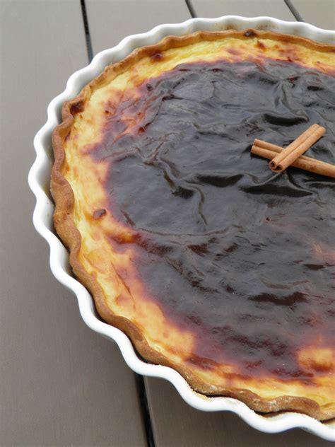 dessert tarte flan lait concentr 233 citron et cannelle tarta pastel de nata terre et mar