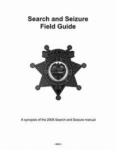 Search And Seizure Field Guide