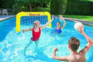 Jeu De Piscine : jeu de water polo gonflable bestway cage ballon ~ Melissatoandfro.com Idées de Décoration