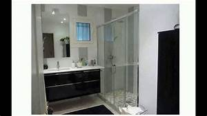 Salle De Bain 3m2 : design petite salle de bain youtube ~ Dallasstarsshop.com Idées de Décoration