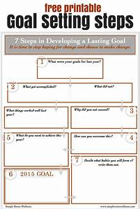 40 best goal setting images on pinterest productivity With setting life goals template