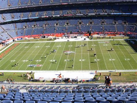 denver broncos upper level sidelines broncosseatingchartcom
