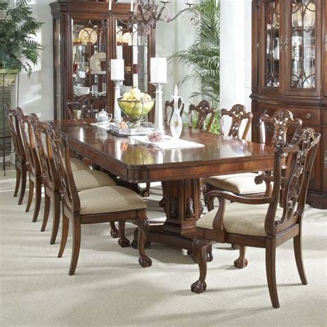 11 Dining Room Set by Belfort Signature Westview 11 Dining Set With