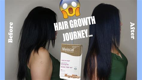 Black Hair To Before And After Pictures by 2 Month Viviscal Hair Growth Before After