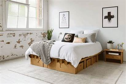 Cardboard Furniture Karton Bedroom Inhabitat Bed Diy