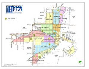 Miami Districts Map